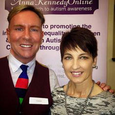 Anna Kennedy and myself at The House of Commons