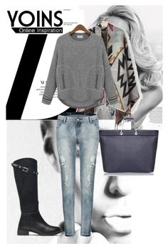 """YOINS contest"" by almina21 ❤ liked on Polyvore featuring yoins"