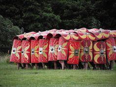 Romans at the Festival of History 2011, Belmarsh, Northamptonshire. by greentool2002, via Flickr