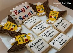Eagle Scout cookies