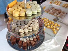 magiske macarons med lakrids og hvid chokolade