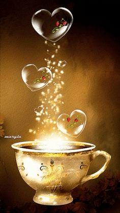 Coffee...love in a mug ✿ڿڰۣ♥ nyRockPhotoGirl •♥• •♥•