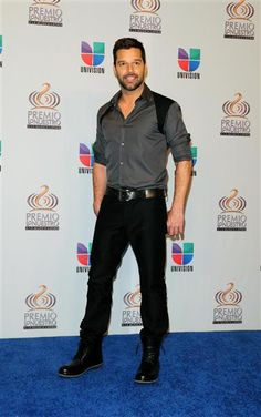 "Like Ritchie Valens before him, Ricky Martin dropped a traditionally Spanish name for a similar sounding one that would fly in English- and Spanish-speaking countries_born-Enrique ""Ricky"" Martín Morales"