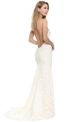 Katie May Poipu Low Back Wedding Dress