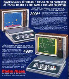 radio shack computer - Google Search
