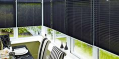 Vertical Blinds are the perfect addition for any home. Elite Blinds (UK) Ltd tell you everything you need to know about this beautiful and stylish option. House Blinds, Conservatory, Curtains, Black And White, Interior, Summer, Home Decor, Blinds, Summer Time