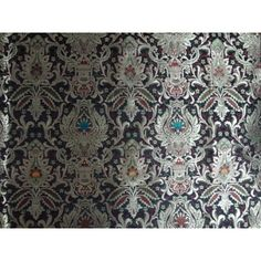 Absolutely Gorgeous handloom woven heavy brocade fabric $100