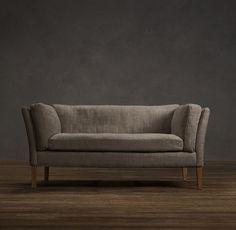 Sorensen couch from Restoration in Charcoal