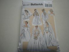 Pattern Wedding Veils 6 Styles Butterick by crystalslaceandmore