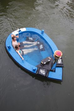 Why Don't I Have This HotTug: Hot Tub Mini Boat - Why Don't I Have This