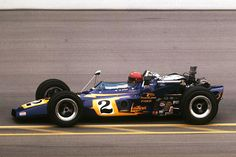 Al Unser scored the first of his four Indy 500 wins in 1970. He would repeat in 1971, '78 and '87.