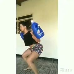 Body Fitness, Physical Fitness, Fitness Tips, Fitness Motivation, Gym Workout Tips, Workout Videos, At Home Workouts, Squat Workout, Brazilian Butt Workout
