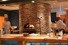 Noteable Projects | Installations | Stone Hearth Pizzeria Design, Small Restaurant Design, Restaurant Interior Design, Italian Restaurant Decor, Pizza Restaurant, Outdoor Restaurant, Diy Pizza Oven, Pizza Oven Outdoor, Oven Design