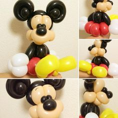 Mickey Mouse Bracelet #balloonart #バルーンアート