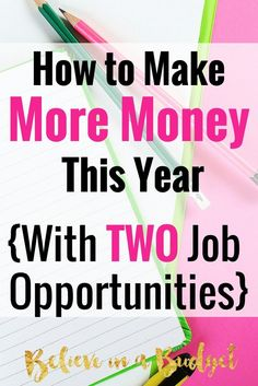 I am all about the side hustle. I have made more than $6,500 from side hustling the past two years in addition to my full time job. Here are 2 new jobs I had never even heard of that almost anyone can do from home.