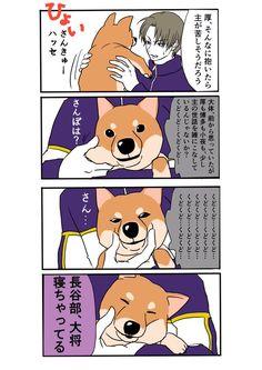 我が本丸の審神者を想像した結果、犬が一番しっくりくる - とうろぐ-刀剣乱舞漫画ログ