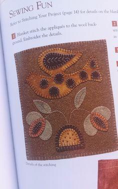 quiltsbycheri: Wool Applique Folk Art Blog Tour ~ my day