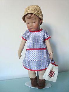 Beutel-alt-bestickt-aus-meinem-Fundus-f-43-45-cm-grosse-Puppen-KK-Puppe-1