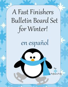 The Stress Free Spanish Teacher!: Spanish class Fast Finishers, Bulletin Board SET  Consider making a Fast Finishers bulletin board with these cards of activities that your students can do while they wait patiently for others to finish!   **22 fast finisher activities in Spanish/English  **Tally sheets  **Blank Fast Finisher cards (so you can add your own options, but keep the décor!)  **3 bonus printables from some of my other lessons!