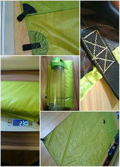 Sewing project: diy silnylon tarp for ul camping. Camping Tarp, Tent Tarp, Diy Tent, Backpacking Tent, Camping Guide, Diy Camping, Outdoor Camping, Camping Hammock, Outdoor Gear