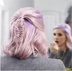 Fishtail braid hairstyles for short hair Braided Hairstyles Braids For Short Hair, Cute Hairstyles For Short Hair, Short Hair Cuts, Short Hair Styles, Fishtail Hairstyles, Dress Hairstyles, Fishtail Braids, Hairstyle Ideas, Prom Braid