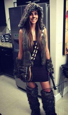 Star Wars Chewbacca Kostüm selber machen | Kostüm Idee zu Karneval, Halloween & Fasching