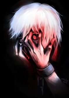 Kaneki Ken    that eye is amazing