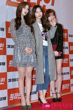 Nine Muses Sojin, Hyemi & Keumjo
