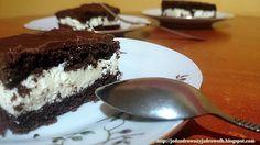 """Jedz zdrowo żyj zdrowo: Domowe ciasto """"Kinder mleczna kanapka"""""""