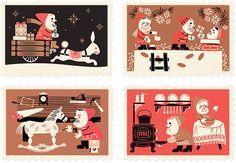 Studio Tipi: Pigeon Post Holiday Series