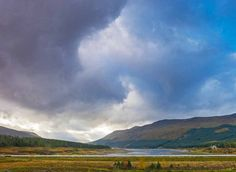 What the Commuter Saw: Downloadable image - Storm over Loch Ericht, Dalwhinnie, Scotland.