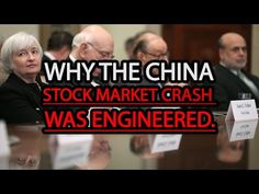 Why the China Stock Market Crash was Engineered - YouTube