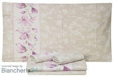 Lenzuola matrimoniali magnolia rosa Maè. Biancheria Via Roma,60 #Lenzuola #Copripiumini #Trapunte #Asciugamani #Accappatoio. www.biancheria24.it