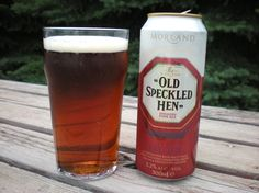 Old Speckled Hen. The very best beer. Really.