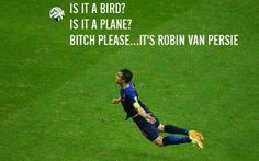 Robin van Persie #Spain-Holland #wc2014