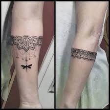 Resultado de imagen de bracelete feminino tattoo