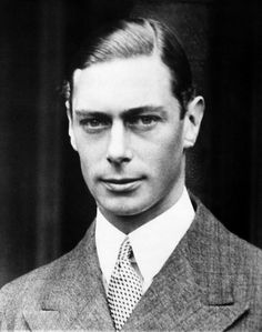 "British Royalty. King George VI-Queen Elizabeth's father and subject of the great movie ""The King's Speech."""