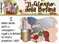 Il giorno della #Befana! storia illustrata per bambini.