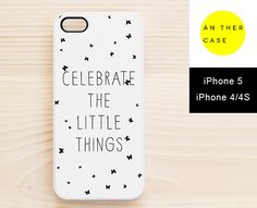 white quote iphone case from www.another-case.com