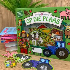 🐄 Old MacDonald had a farm - ee i ee i o! 🐓 Teach your little one about farm animals with this educational book with place pieces included. Art And Craft Materials, Stationery Shop, Farm Animals, Arts And Crafts, Education, Books, Stationery, Libros, Book