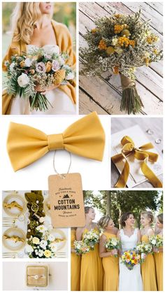 Mustard yellow bow tie for men, gold wedding bow tie, groomsmen bowtie, gift for him, boys bow ties - Spring Summer wedding accessories - New Ideas Wedding Reception Ideas, Wedding Themes, Wedding Hacks, Wedding Planning, Diy Wedding, Wedding Gifts For Men, Party Wedding, Wedding Ceremony, Wedding Stuff