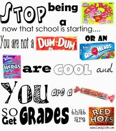 Candy Crate : Back to School!