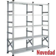 Estanterías metálicas ligeras galvamil 10 estantes https://www.esmelux.com/estanter%C3%ADas-met%C3%A1licas-ligeras-galvamil-10-estantes