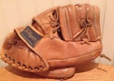 old vintage rare JC Higgins Roberto Clemente Baseball Mitt.  Condition: For age the glove is overall in Good Condition. No Rips. No Tears. Shows a great amount of wear (as expected). Signature can be seen clearly. Has former owners initials and name on it. Which shows the character of the glove Visit http://www.ebay.com/usr/bigthax62 to purchase. #VintageSports #Rare #Nice #MustHave #VintageBaseball #RobertoClemente #DIY #Christmas