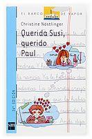 """""""Querida Susi, querido Paul""""    Paul tiene que marcharse de su ciudad y dejar a su amiga Susi. A través de las cartas que se escriben, ambos irán dibujando la nueva vida que se abre ante ellos. ¿Volverán algún día a estar juntos? Una historia intimista sobre los problemas de adaptación y la importancia de la amistad en la superación de dificultades."""
