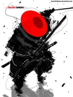 Red Hat Samurai by benedickbana on DeviantArt