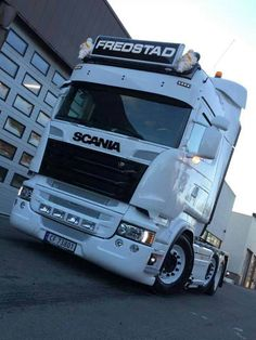 Scania tractor truck