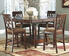 Tanshire Counter Height Dining Room Table  Dining Room Tables Fascinating Counter Height Dining Room Decorating Design