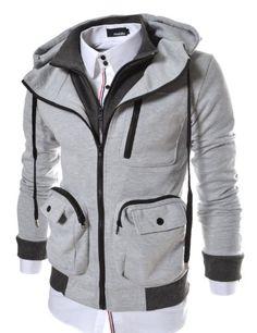 TheLees (LCJ9) Mens Casual Slim Fit Hood Cotton Jacket Gray X-Large(US Large) [http://www.amazon.com/dp/B00AWA4KBI/ref=cm_sw_r_pi_dp_4lrGsb1NKHEE5SKB]