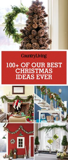 18 Clever Homemade Christmas Decorations Clever diy, Homemade - country christmas decorations